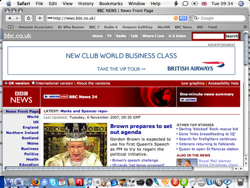 BBC News With Adverts