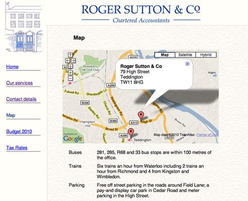 Roger Sutton and Co. Website