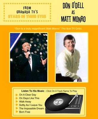 Matt Monro Tribute Website